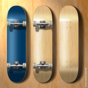 Build a simple skateboard in Autodesk Maya