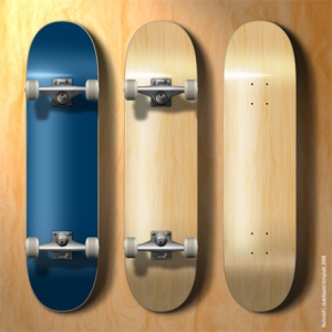 Build a simple skateboard in Autodesk Maya