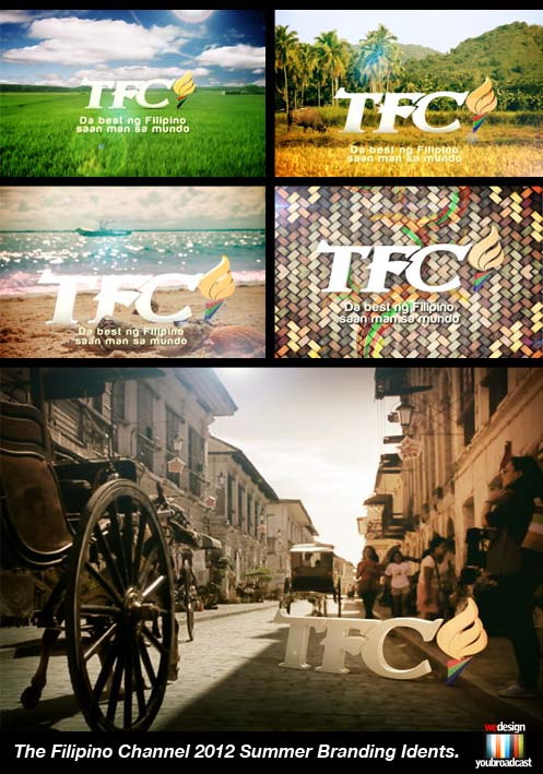 The Filipino Channel 2012 Summer Idents