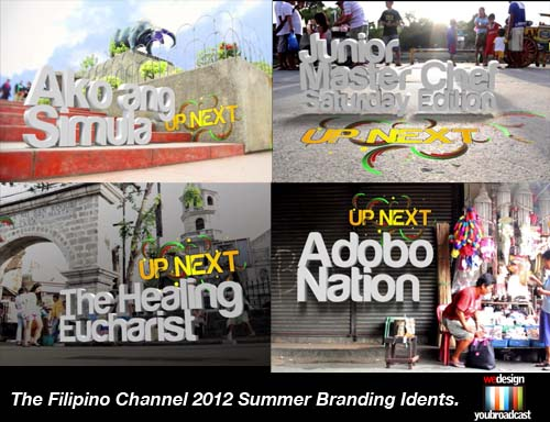 The Filipino Channel Idents 2012