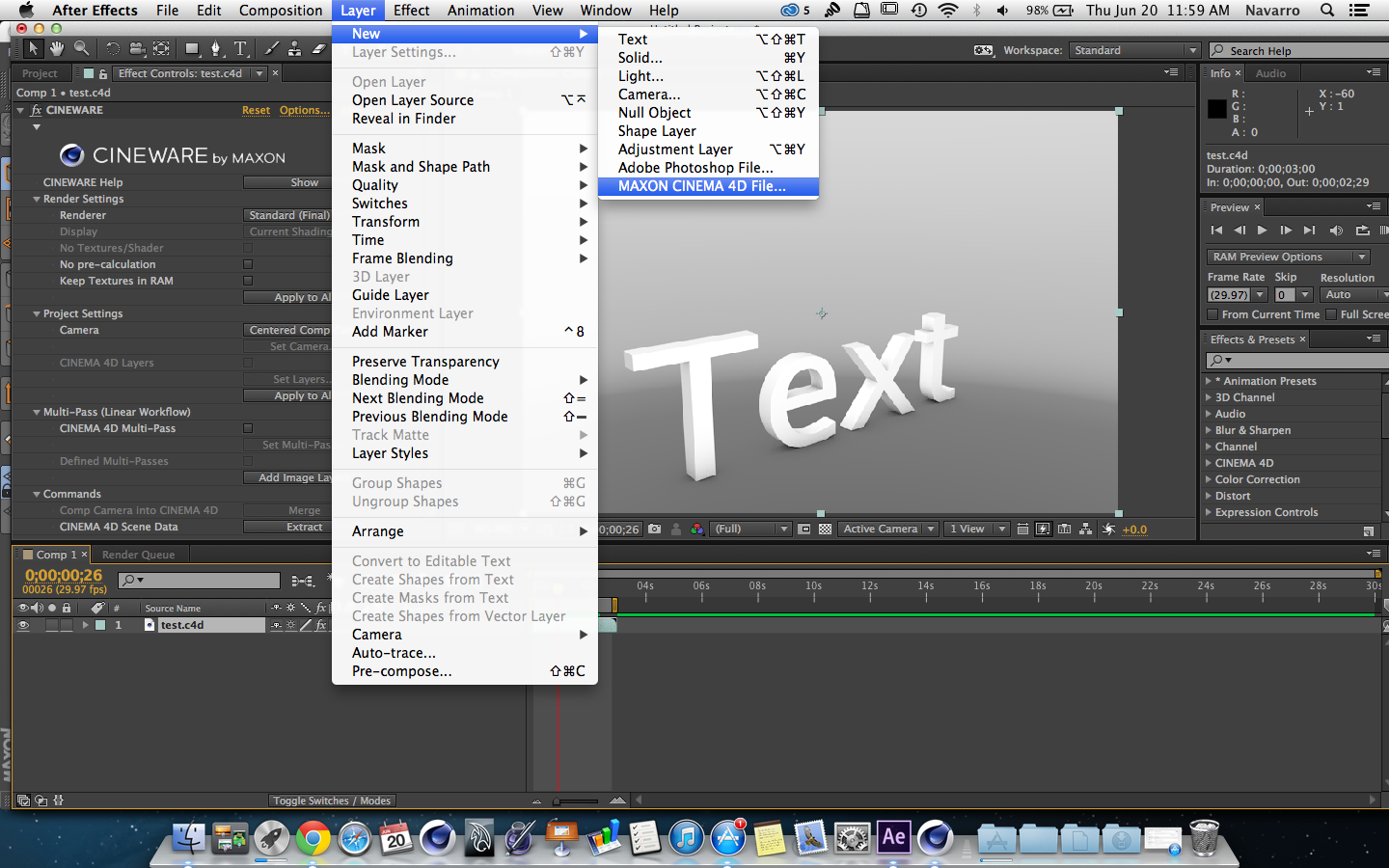 Adobe Creative Cloud, Adobe After Effects CC Initial Review ...