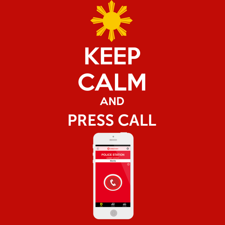 Keep calm and press call during emergencies